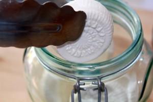 Store in sterilized jar