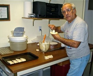 Uncle Fredu Making Pastizzi