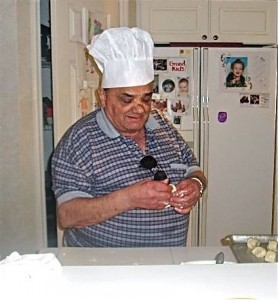 Uncle Alex Making Pastizzi