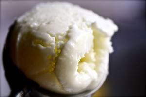Lemon Frozen Yoghurt