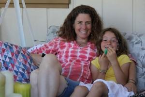 Leanne and Eliana